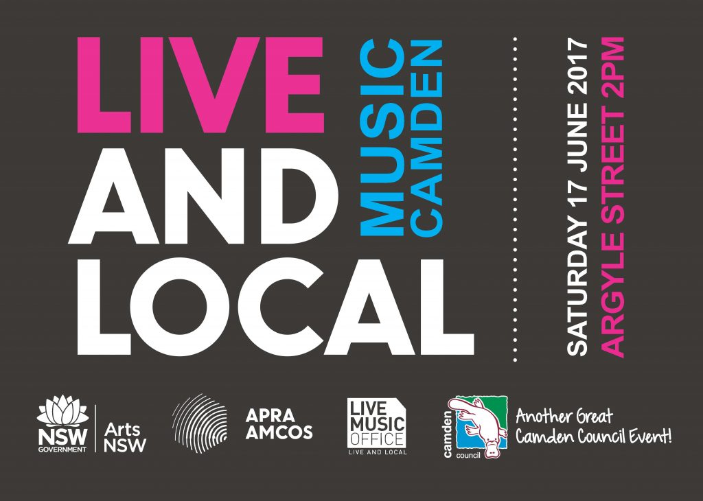 Camden Live and Local Promotional Poster